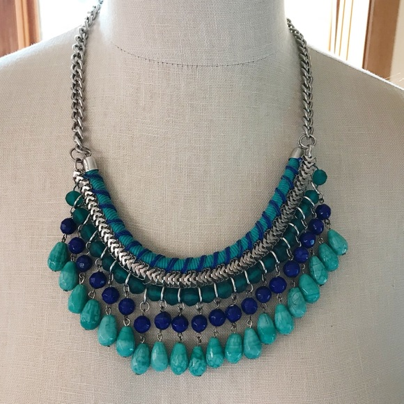 Mossimo Supply Co. Jewelry - Beautiful blue statement necklace